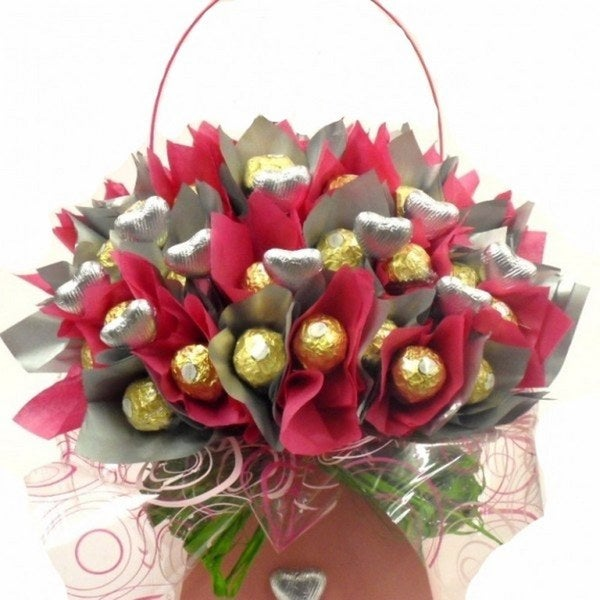 Shop Ferrero Rocher Flower Chocolate Bouquet - Free Shipping Today ...