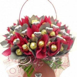 Ferrero Rocher Flower Chocolate Bouquet