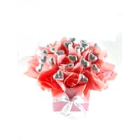 Chocolate Hearts Candy Bouquet