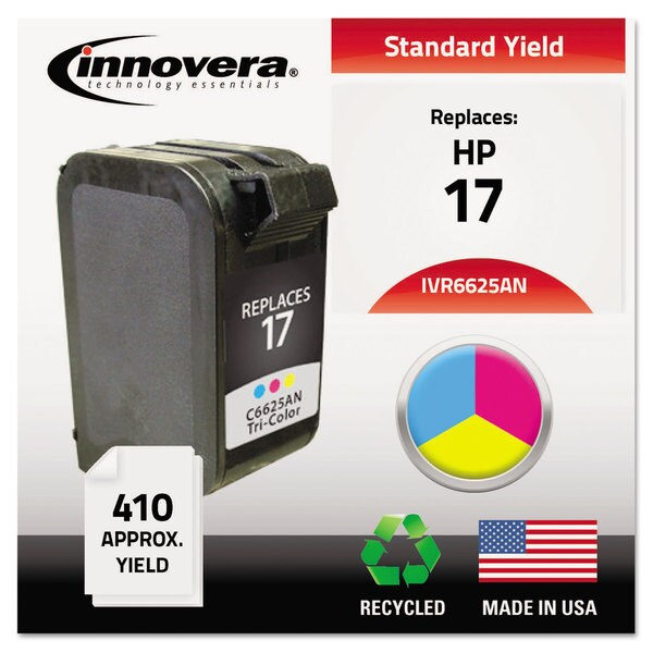 Innovera Remanufactured C6625AN (17) Ink 410 Page-Yield Tri-Color