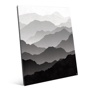 'Contrast In Distance' Wall Art Print on Glass