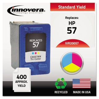 Innovera Remanufactured C6657AN (57) Ink 400 Page-Yield Tri-Color