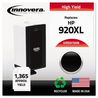 Innovera Remanufactured CD975AN (920XL) High Yield Ink 1200 Page-Yield Black