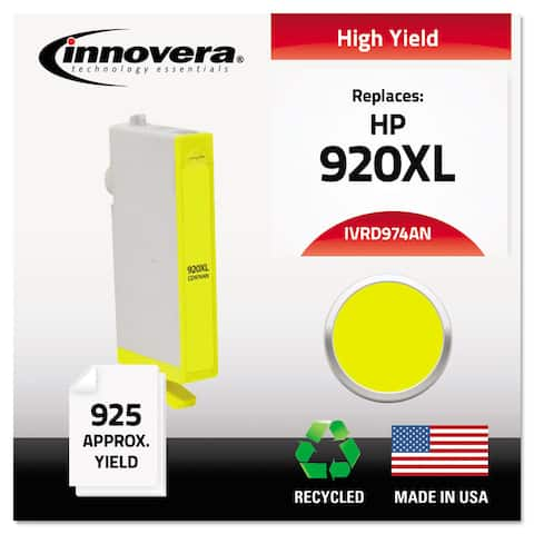Innovera Remanufactured CD974AN (920XL) Ink 700 Page-Yield Yellow