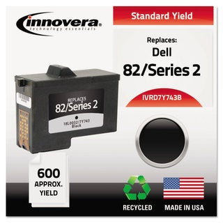 Innovera Remanufactured 7Y743 (Series 2) Ink 600 Yield Black