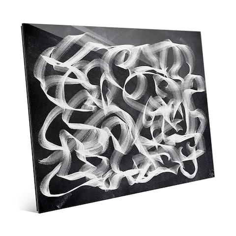 'Slipstream Landscape Flip' Wall Art Print on Glass