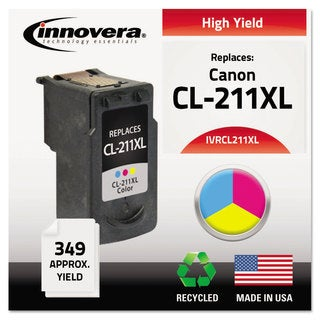 Innovera Remanufactured CL-211XL Ink 349 Page-Yield Color