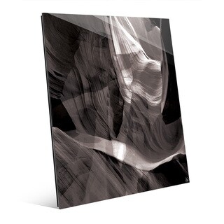 'Ether Collision' Glass Wall Art Print
