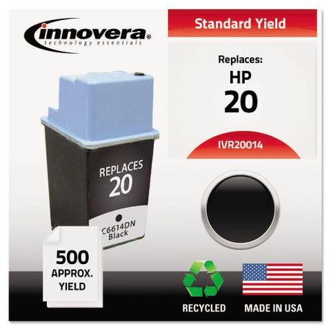 Innovera Remanufactured C6614DN (20) Ink 500 Page-Yield Black
