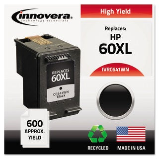 Innovera Remanufactured CC641WN (60XL) Ink 600 Page-Yield Black