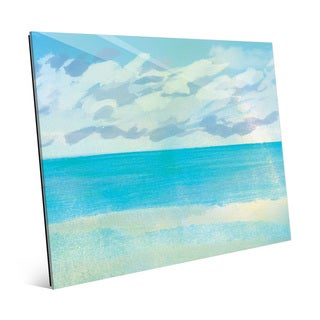 'Azure Scenery' Wall Art Print on Glass