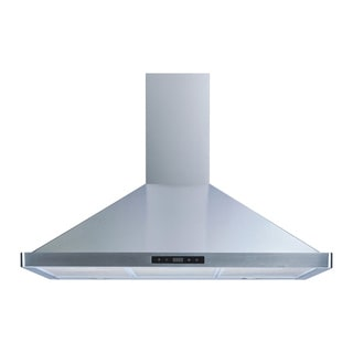"Winflo O-W103B36 36"" Stainless Steel Convertible Wall Mount Range Hood"