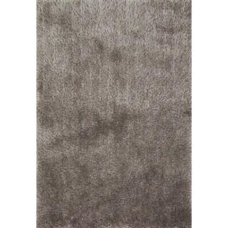 Hand-tufted Dream Grey Shag Rug (3'6 x 5'6)