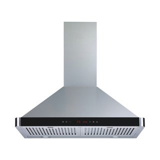 Winflo O-W103B30D 30-inch Stainless Steel Convertible Wall Mount Range Hood