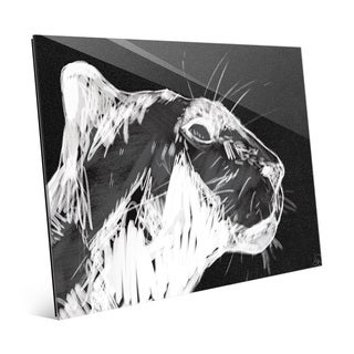 Simple Panther Black Acrylic Wall Art