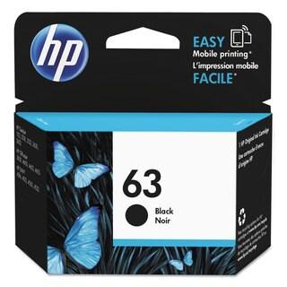 HP 63 (F6U62AN) Black Original Ink Cartridge