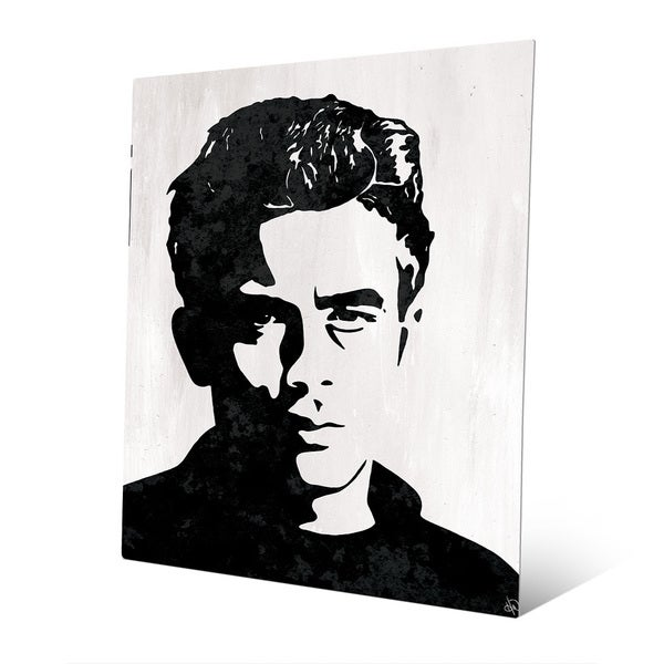 James Dean\' Graphic Metal Wall Art Print - Free Shipping Today ...