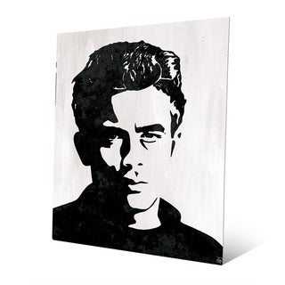 'James Dean' Graphic Metal Wall Art Print