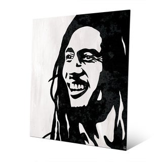 'Bob Marley' Metal Graphic Wall Art Print