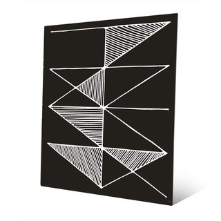 Square Metal Wall Art geometric modern metal abstract wall art - free shipping today