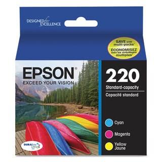 Epson T220520 (220) DURABrite Ultra Ink Cyan/Magenta/Yellow