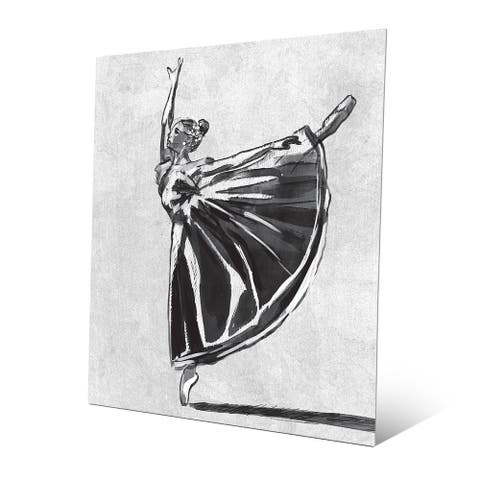 'Ballet Balance' Metal Wall Art Print