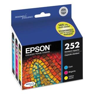 Epson T252520 (252) DURABrite ULettera Ink Cyan/Magenta/Yellow