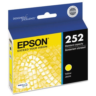 Epson T252420 (252) DURABrite Ultra Ink Yellow