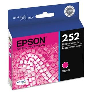Epson T252320 (252) DURABrite Ultra Ink Magenta
