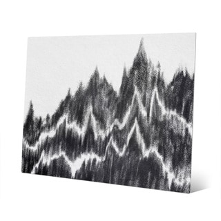 Landscape Waves Base Print Metal Wall Art