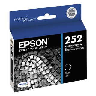 Epson T252120 (252) DURABrite Ultra Ink Black