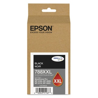 Epson T788XXL120 (788XXL) DURABrite ULettera XL PRO High-Yield Ink Black