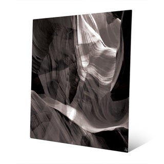'Ether Collision' Abstract Metal Wall Art Print