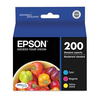 Epson T200520 (200) DURABrite Ultra Ink Cyan/Magenta/Yellow