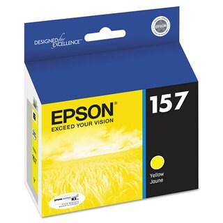 Epson T157420 (157) ULetteraChrome K3 Ink Yellow