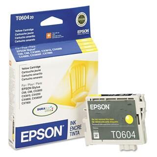 Epson T060420 (60) DURABrite Ink Yellow