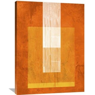 Naxart Studio 'Orange Paper 2' Stretched Canvas Wall Art