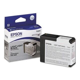 Epson T580900 UltraChrome K3 Ink Light Light Black