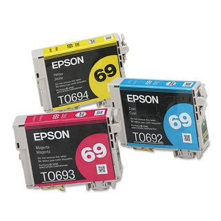 Epson T069520 (69) DURABrite Ink Cyan/Magenta/Yellow 3/Pack