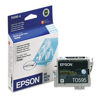 Epson T059520 (59) UltraChrome K3 Ink Light Cyan