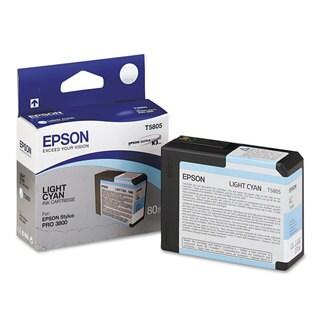 Epson T580500 UltraChrome K3 Ink Light Cyan