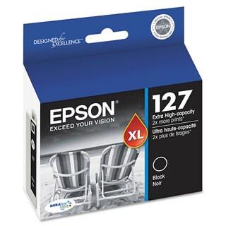 Epson T127120 (127) DURABrite Ultra Extra High-Yield Ink Black