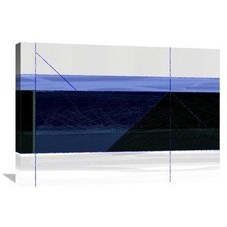 Naxart Studio 'Deep Blue' Stretched Canvas Wall Art