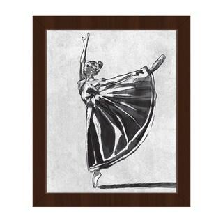 'Ballet Balance' Framed Canvas Wall Art Print