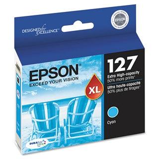 Epson T127220 (127) DURABrite Ultra Extra High-Yield Ink Cyan