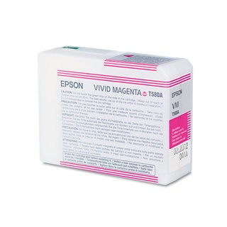 Epson T580A00 ULetteraChrome K3 Ink Vivid Magenta