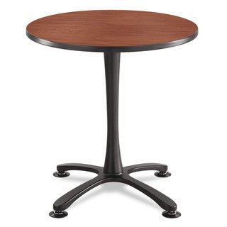 Safco Cha-Cha Table Top Laminate Round 30 inches Diameter Cherry
