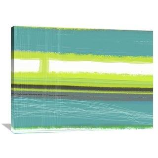 Naxart Studio 'Aquatic Breeze 2' Stretched Canvas Wall Art