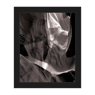 'Ether Collision' Framed Canvas Wall Art Print