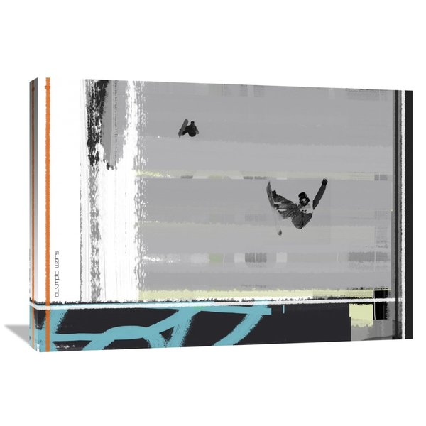 Naxart Studio 'Chicago' Stretched Canvas Wall Art